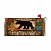 Home & Country Living Magnetic Mailbox Cover Wrap (welcome Bear) Free Shipping