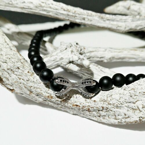24x12mm perlas entre parte Nellys doppelkralle charm 3 colores con circonita aprox