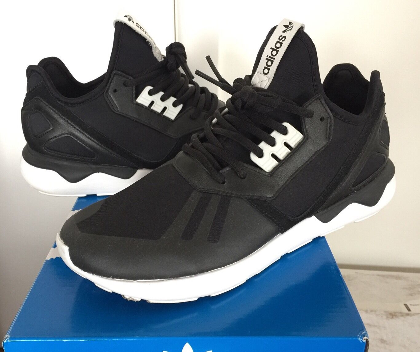 Adidas 2014 OG Color Tubular Black white 9 8.5 zx flux Ultra boost stan smith X