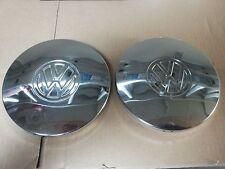 VW Golf 1  Jetta 1  Chromradkappen  2 Stück   Original VW