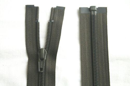 YKK Reißverschluss Teilbar Spiral Zipper Nummer 5 Jacke 80 cm Lang in Oliv