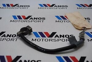 99-06 BMW E46 M3 330 328 325 323 Trunk Battery Negative Ground Cable OEM 8374991