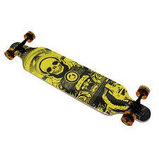 """Longboard Skateboard Drop 41"""" inch Skate Board Abec 11 Wooden Complete Board SK"""