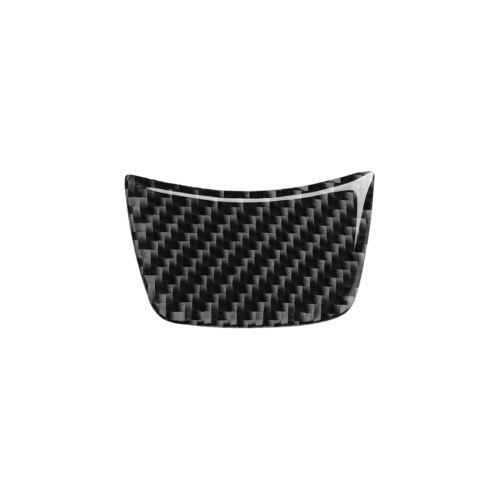 Carbon Fiber Car Steering Wheel Sticker Trim Cover Fit For Audi A6 A7 2012-2018