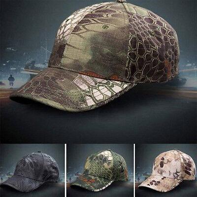 Men Camouflage Military Adjustable Hat Camo Hunting Fishing Army Baseball Cap US