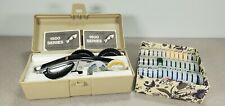 Vintage Dymo 1570 Label Maker With Embossing Wheels Tape Case Amp Instructions