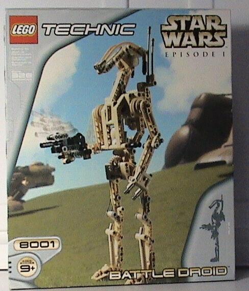Lego Technic Star Wars 8001 Battle Droid  nouveau Sealed  bénéfice nul