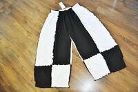 Refined Layering Jersey-balloon Pants°black White° ° Roll Hems 82cm Hips