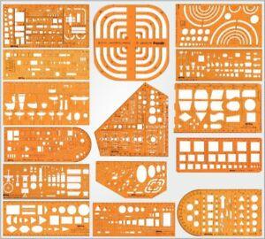 Technisches Zeichnen Zeichenschablone