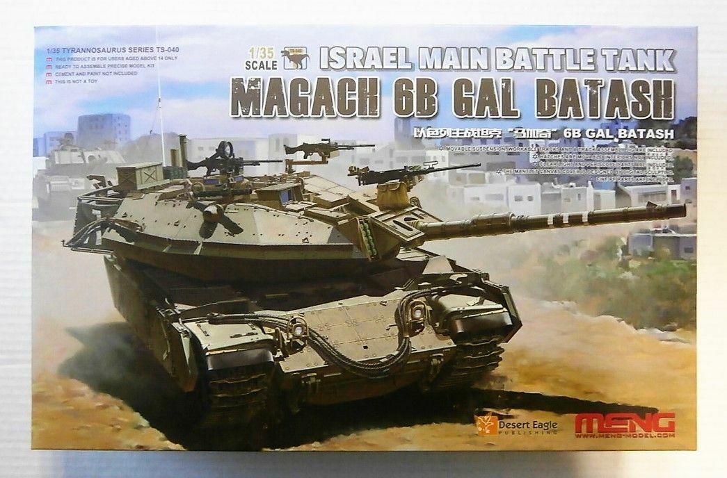 Meng Model kit TS-040 1 35th scale Israeli MBT Magach 6B GAL BATASH