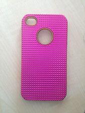 APPLE IPHONE 4S  SMARTPHONE STURDY COVER BRAND NEW FUSCHIA PINK