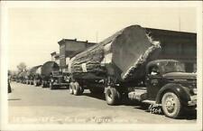Arlington Transfer Truck Giant Logs Logging Western Washington ELLIS RPPC