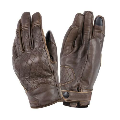 Leather Winter Scooter Glove Tucano Urbano Steve Glove Vintage Brown Gloves