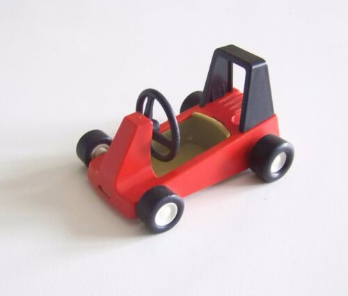 S5c01 RACING Karting Rouge Vintage 3575 Jauni /& Traces de Colle PLAYMOBIL