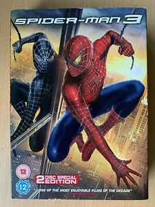 Spider-Man-3-DVD-2004-Marvel-Universe-Superhero-Film-2-Disc-Edition-w-Slipcover