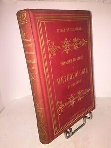 Physique du globe et météorologie populaire par Alfred de Vaulabelle 1883