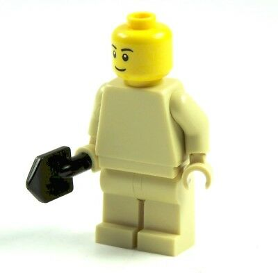 5 Custom Spaten Schaufel Zubehör für LEGO® Figuren Polizei Feurwehr City