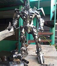 Optimus Prime Knight Transformer Metal Iron Model Artwork Custom made Handcraft