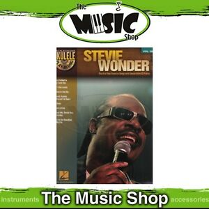 Details about New Stevie Wonder Ukulele Play Along Music Book & CD - Volume  28