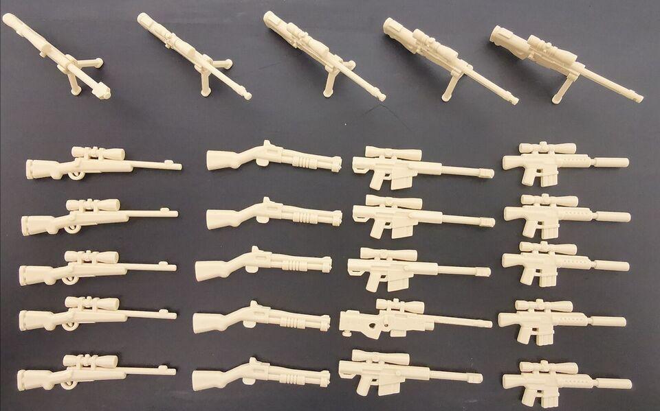 Lego andet, Våben lot: 1