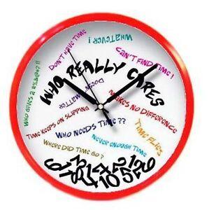 NEW-WHO-CARES-FUNNY-PRANK-WALL-CLOCK-home-clocks-gifts-joke-fun-wall-decor-gift