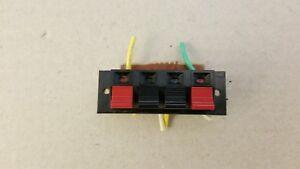 NAD 3140 amplifier speaker connectors terminals jacks