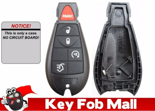 NEW Keyless Entry Key Fob Remote CASE ONLY REPAIR KIT For a 2008 Jeep Commander