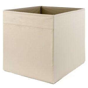 IKEA-DRONA-beige-Box-Fach-Aufbewahrung-fuer-EXPEDIT-UND-KALLAX-Regale-NEU-amp-OVP