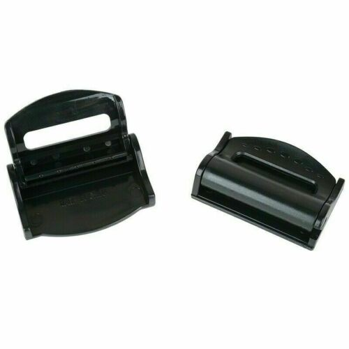 2x Auto Sicherheitsgurt Clip Verstellung Verschluss Band Stopper Klemmen Sicher