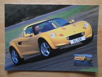 Lotus Exige Sprint /'in brief/' A4 double sided sale leaflet brochure