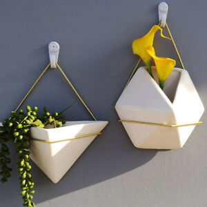 Wandhalterung h ngetopf keramik kunststoff blumentopf for Wandhalterung pflanzen