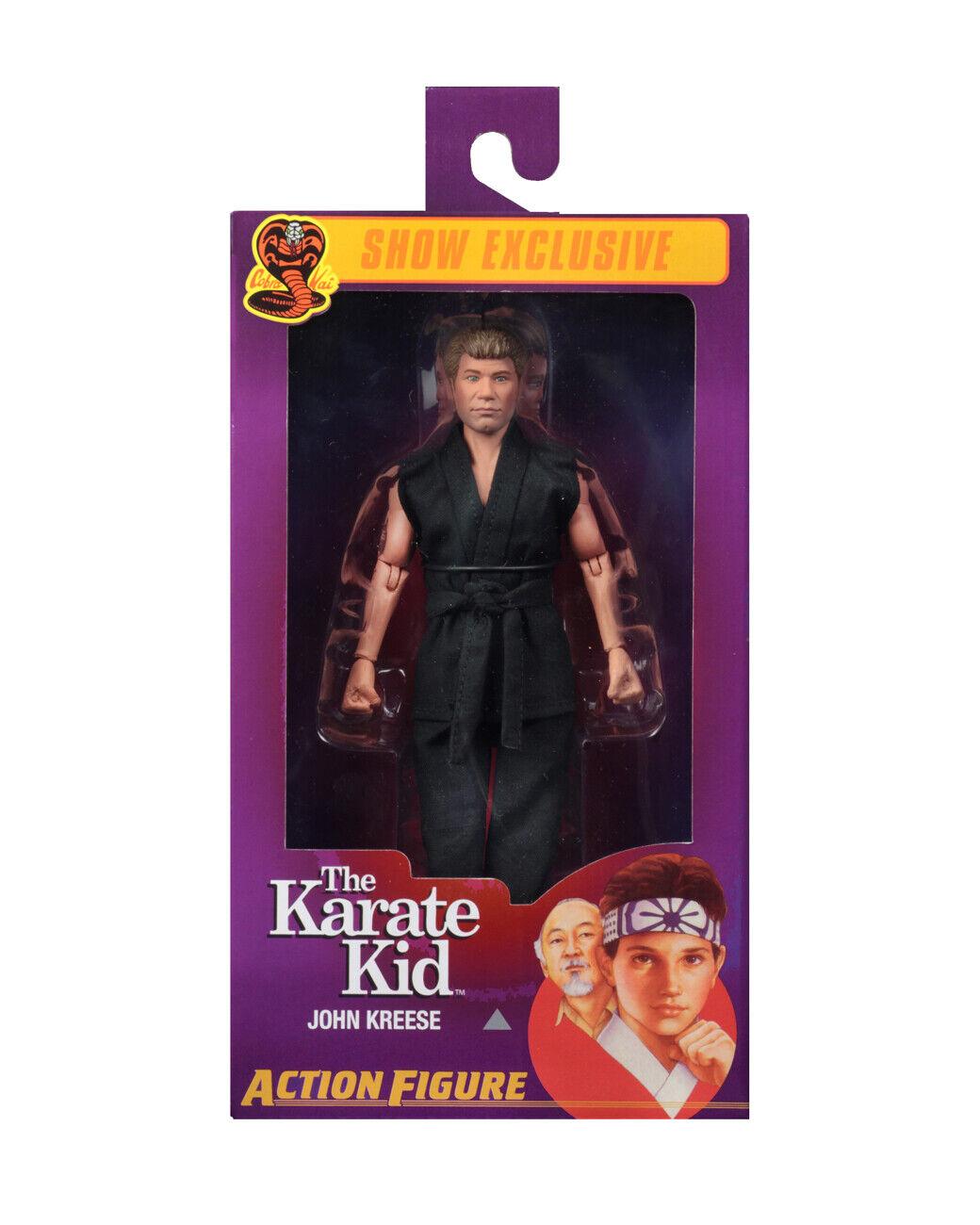San Diego comic-con 2019 NECA Karate Kid John Kreese figura 8  ropa Sensei Cobra Kai