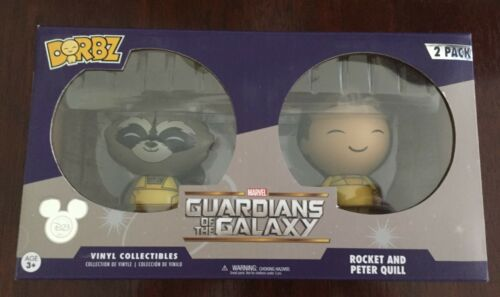 Funko Dorbz Guardians of the Galaxy Rocket and Peter Quill 2 pack D23 excl