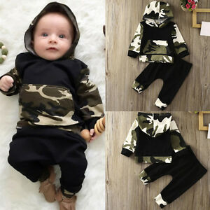 2PCS-Toddler-Newborn-Baby-Boy-Camouflage-Hooded-Shirt-Tops-Pants-Outfits-Clothes