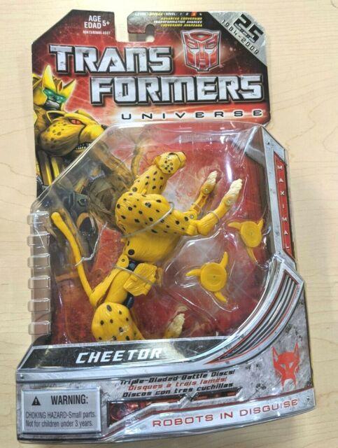 Transformers Universe Deluxe Figure Maximal Cheetor New 2009 25th Anniversary