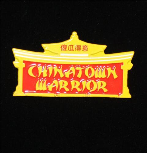 Chinatown Guerrier Émail Broche par le sucklord SUCKADELIC