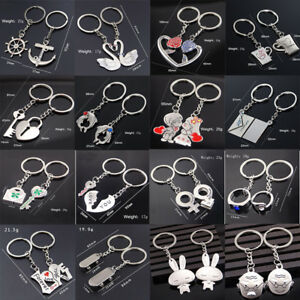39c2d077eb Image is loading Men-Women-Couple-Lovers-Gifts-Jewelry-Car-Keyrings-