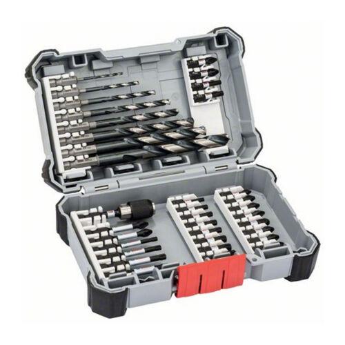 und Bit-Set Bit-Satz HSS-Bohrer Bosch-Box Bosch 35-tlg Impact Control Bohrer