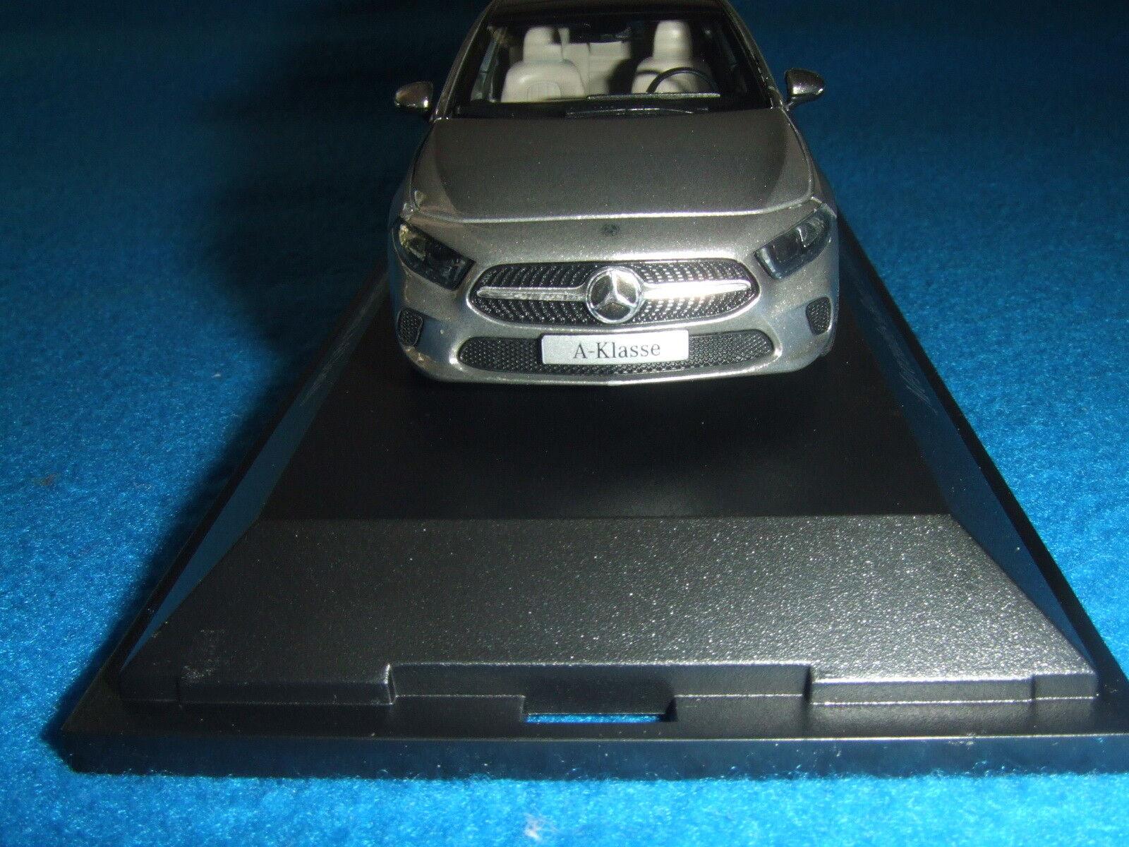Mercedes Benz W 177 177 177 - A Klasse 2018 Mojawe silver 1 43 Neu OVP 080229