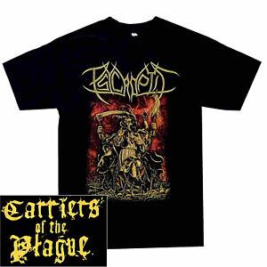 Psycroptic-Carriers-Of-The-Plague-Shirt-S-XXL-Officl-Tshirt-Death-Metal-T-Shirt