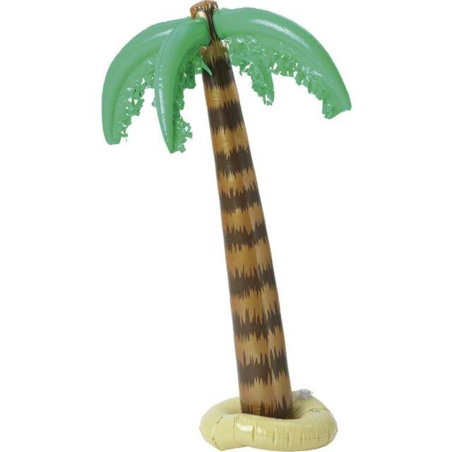 Inflatable Palm Tree 3ft Hawaiian Tropical Fancy Dress Accessory
