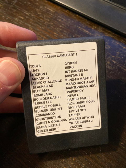 Commodore , tilbehør, Cartridge til Commodore 64 med 33…