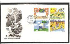 US SC # 2954a Earth Day FDC. Artcraft Cachet.