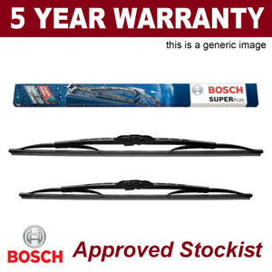21 BOSCH FRONT WINDSCREEN WIPER BLADES SUPER PLUS ORIGINAL GENUINE 21