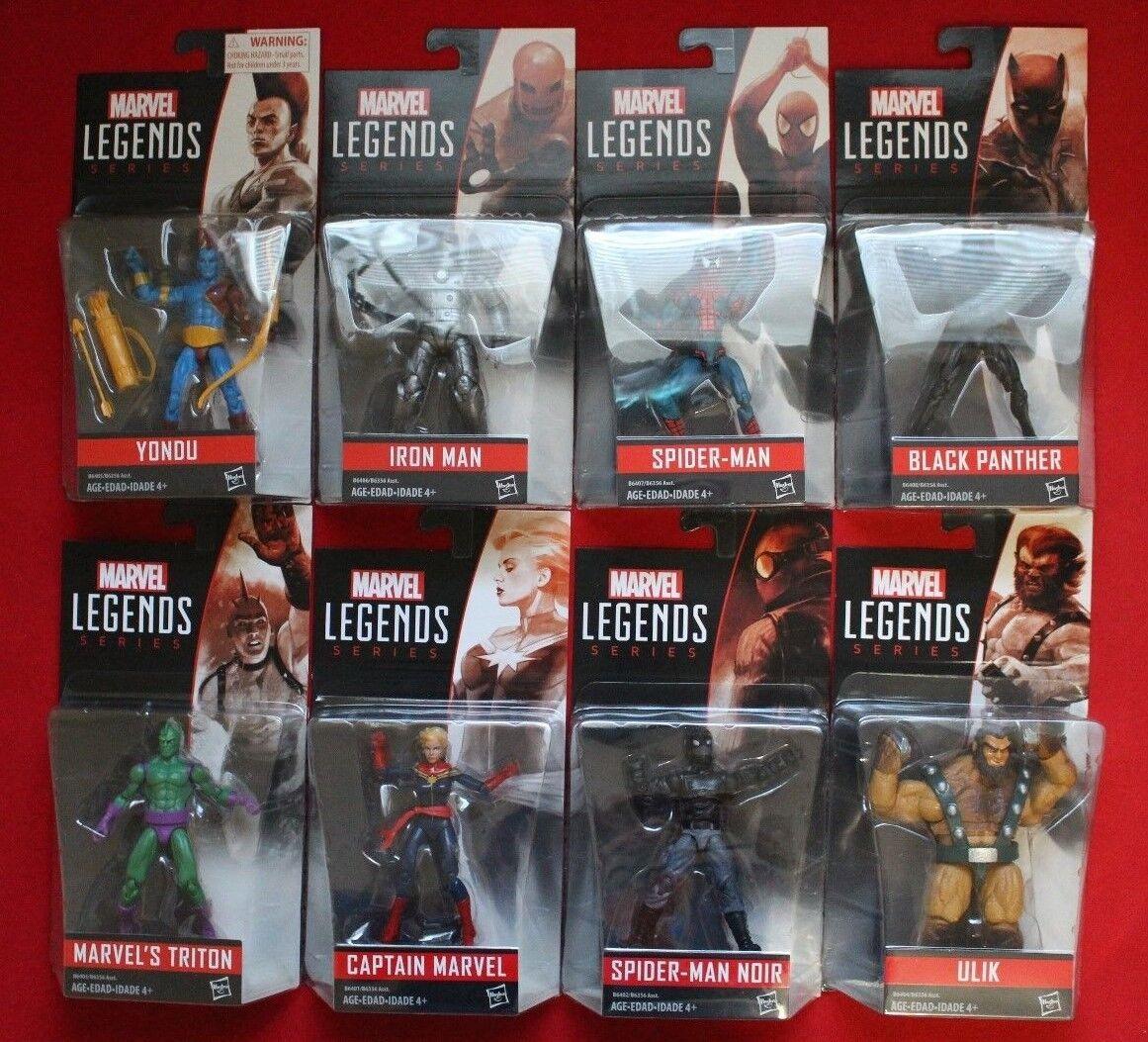MARVEL LEGENDS SERIES 3.75   8 action figures Spiderhomme panthère noire Lot 2015  meilleure offre