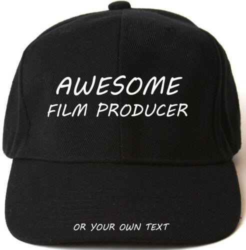 Superbe film producteur personnalisé casquette de baseball cadeau de noël