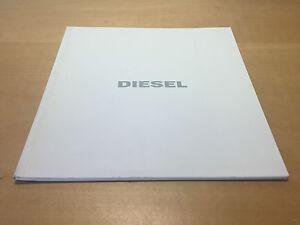 Catalogue Katalog Diesel Zeit Bilder Sammlung Spring Summer 2007 Uhren Supplement Die Vitalenergie Und NäHren Yin