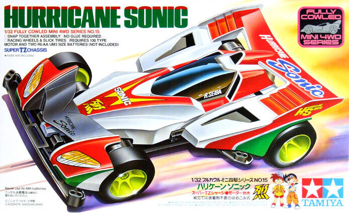 Tamiya   Super Mini 4WD Series  1 32  Hurricane Sonic  Job Lot(10 kits)