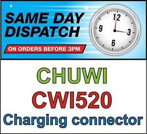 Chuwi Hi12 CWI520 toma de Puerto Conector De Carga Micro USB DC Jack bloque