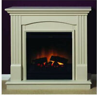Dimplex Chadwick Electric Fire Suite 1.2kw Freestanding Fire And Surround
